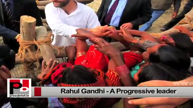 Rahul Gandhi - energetic Congress Vice President with a clear forward looking vision