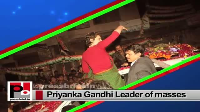 Priyanka Gandhi Vadra - an energetic, progressive Congress leader with modern, innovative vision