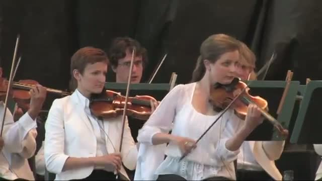 Symphony Performs at Southern Utah's Red Rocks