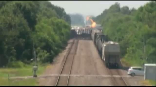 Deadly Arkansas Freight Train Collision
