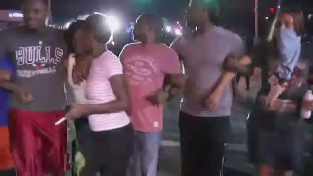 Ferguson Protests Growing