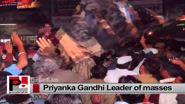 Priyanka Gandhi Vadra-star Congress campaigner with all qualities to become a good leader