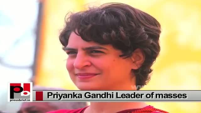 Priyanka Gandhi Vadra-star Congress campaigner with innovative and modern vision