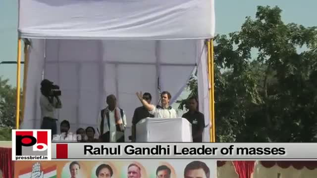 Rahul Gandhi - the youth icon with innovative ideas and progressive vision