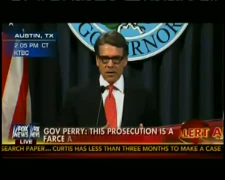Texas Gov. Rick Perry Responds to Abuse of Power Indictment (Full Statement)