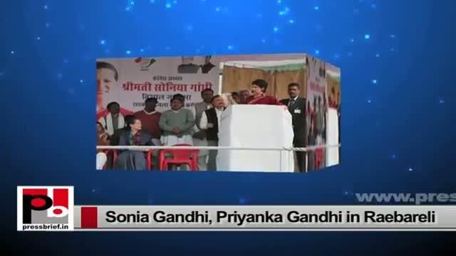 Priyanka Gandhi, Sonia Gandhi - charismatic leaders with progressive vision