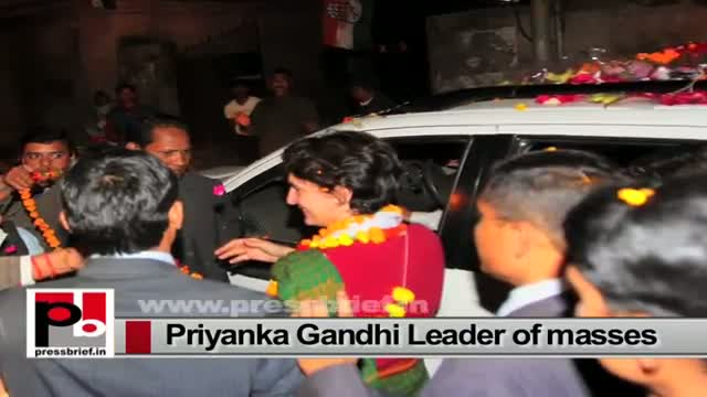 Priyanka Gandhi energetic personality and charismatic like Indira Gandhi