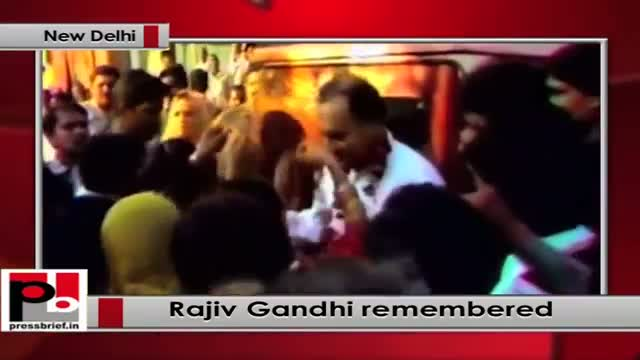Sonia Gandhi, Rahul, Priyanka pay homage to Rajiv Gandhi on his 70th birth anniversary