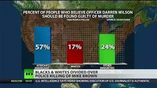 Poll shows racial divide over Michael Brown killing
