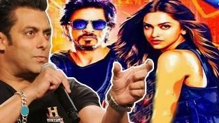 Salman Khan's SHOCKING comment on Shahrukh Khan's Happy New Year Official Trailer