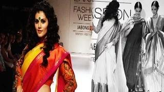 Taapsee Pannu's Awkward Moment At Lakme Fashion Week 2014