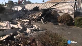 Earthquake rocks Napa Valley, injures dozens