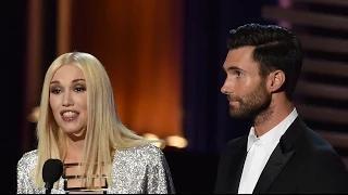 Gwen Stefani Flubs Stephen Colbert's Name at 2014 Emmys