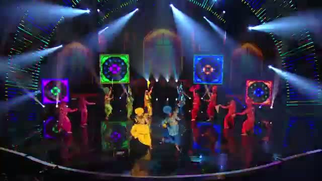 Cornell Bhangra: Winners from Today Show Take the Stage - America's Got Talent 2014