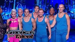 """Bad Boys of Ballet: Extreme Moves Set to """"Problem"""" by Ariana Grande - America's Got Talent 2014"""