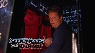 Mike Super: Illusionist Magically Appears - America's Got Talent 2014