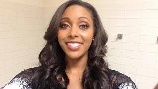 Eden goes on a tasty backstage tour at WWE - Video Blog: August 27, 2014