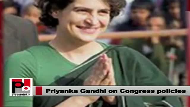 Priyanka Gandhi-Energetic campaigner with progressive and innovative ideas