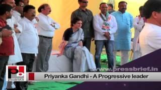 Priyanka Gandhi Vadra, energetic and charismatic person like Indira Gandhi