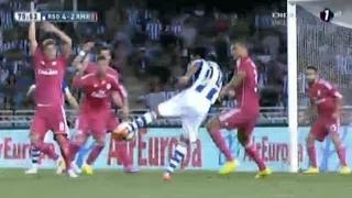 Real Sociedad vs Real Madrid 4-2 All Goals & Highlights 31/08/14 (LaLiga)