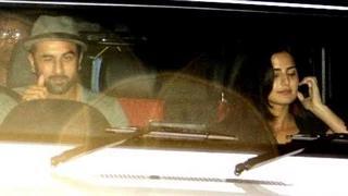 Ranbir Kapoor SPOTTED with girlfriend Katrina Kaif at Karan Johar's BASH