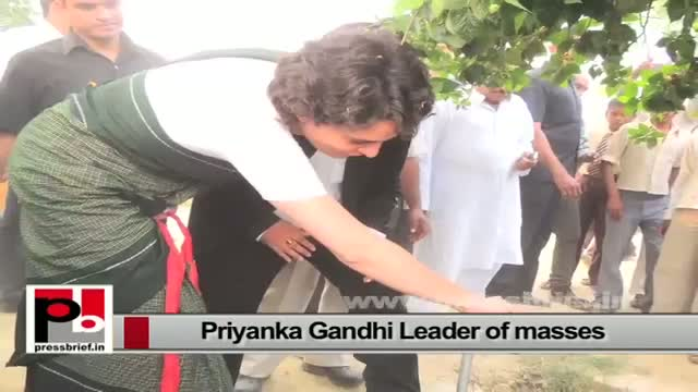 Priyanka Gandhi - young, charming and charismatic leader with modern vision