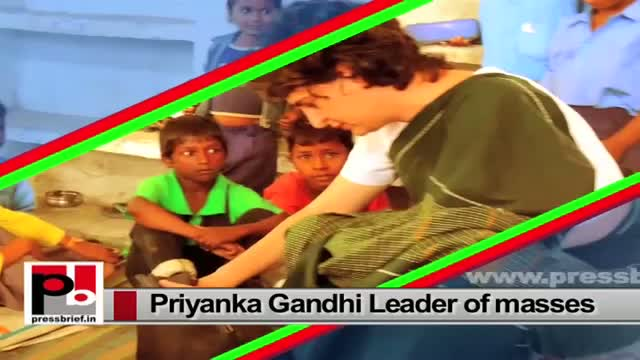 Priyanka Gandhi Vadra - charismatic and charming person like Indira Gandhi