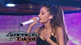 "Ariana Grande: Chart-Topping Singer Performs ""Break Free"" - America's Got Talent 2014"
