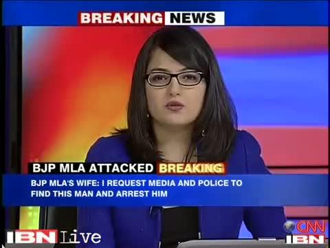 BJP's Jitender Singh Shunty shot at by an unidentified man in Delhi, escapes unhurt