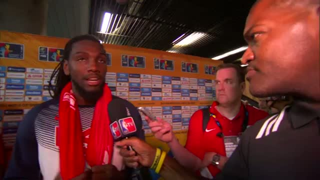 NBA: Kenneth Faried on Team USA's Win over New Zealand