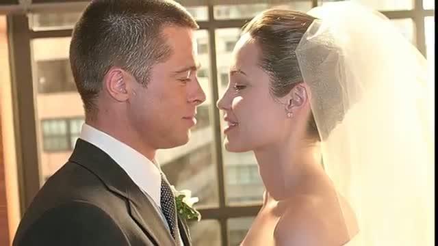 Brad Pitt And Angelina Jolie Wedding Video Id 34199d9f7d37 Veblr