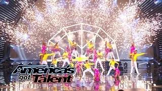 Baila Conmigo: Salsa Dance Troupe Inspires the Crowd - America's Got Talent 2014