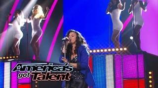 """Kelli Glover: Inspirational Singer Covers Beyonce's """"Love On Top"""" - America's Got Talent 2014"""