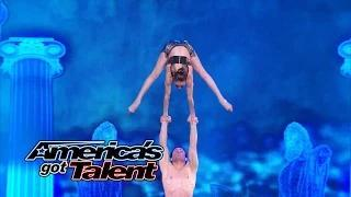 AcroArmy: High-Flying Dance Act Pulls Off Extreme Moves - America's Got Talent 2014