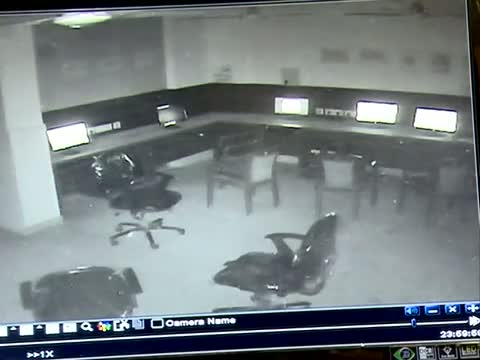 Paranormal Activity, Ghost caught on Camera in court office