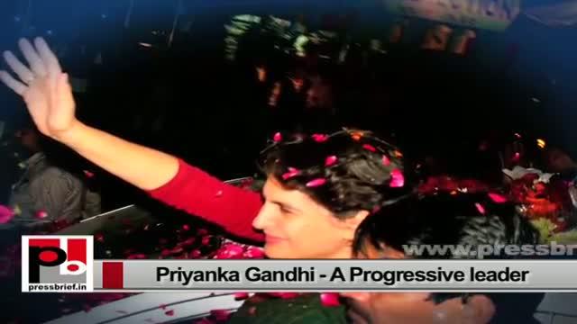 Priyanka Gandhi Vadra-charismatic like former Prime Minister Indira Gandhi