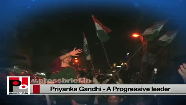 Priyanka Gandhi energetic personality; charismatic like Indira Gandhi