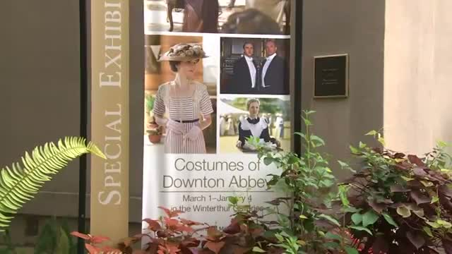 Costumes Draw Downton Abbey Fans to Delaware