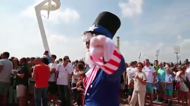 NBA: Fans Around Barcelona Excited for Game vs Mexico!