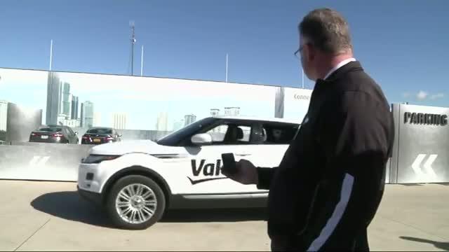 Auto Supplier Shows Self-parking Car in Detroit