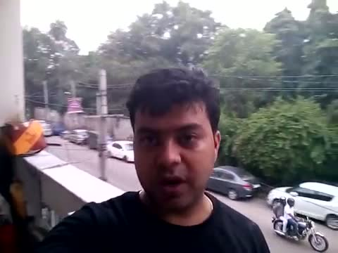 Micromax Canvas Nitro A310 5MP Front Camera Video Sample 480p at 28 fps