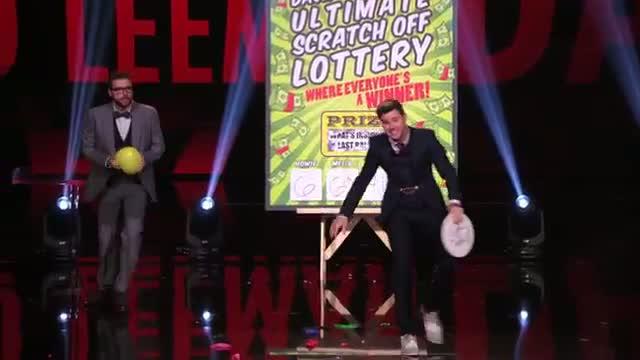 David and Leeman: Magician Duo Predict Winning Lottery Numbers - America's Got Talent 2014