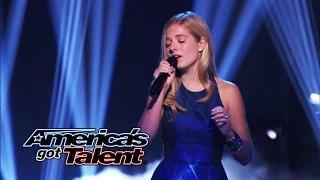 Jackie Evancho: Singer Returns to Perform ʺThink of Meʺ - America's Got Talent 2014
