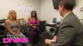 Naomi and Cameron face some news about their future: WWE Total Divas Preview Clip, Sept. 14, 2014