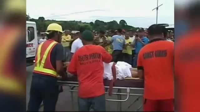 Rescuers Rush to Save Passengers From Ferry