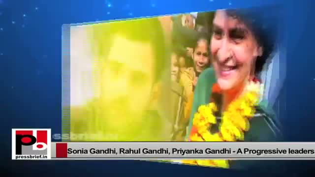 Sonia Gandhi, Priyanka Gandhi and Rahul Gandhi, charismatic Congress leaders