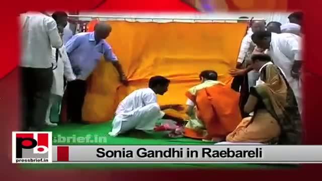 Congress President Sonia Gandhi expresses concern over J&K floods