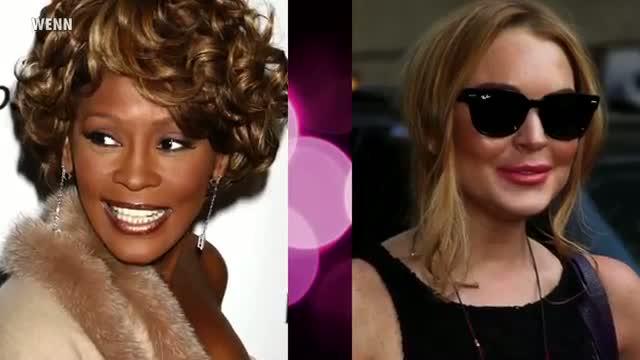 Whitney Houston's Body Bag Wasn't Handled By Lindsay Lohan