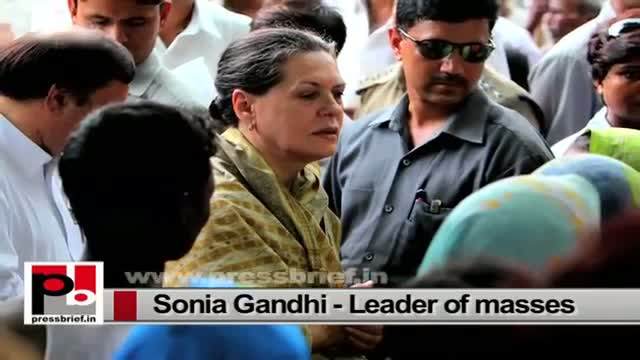 Sonia Gandhi in Raebareli, attacks Narendra Modi led Central government
