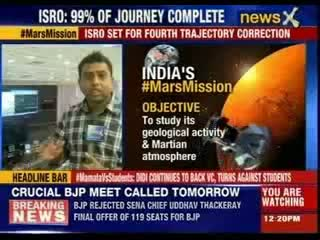 Isro's Mangalyaan Mars Orbiter Mission Set For Crucial Manoeuvre